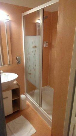 Hotel Des Voyageurs: Sdb avec douche wc