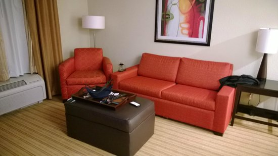 Homewood Suites Fort Worth West at Cityview: Sitting area