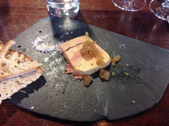 foie gras en terrine picture of comptoir gascon london. Black Bedroom Furniture Sets. Home Design Ideas
