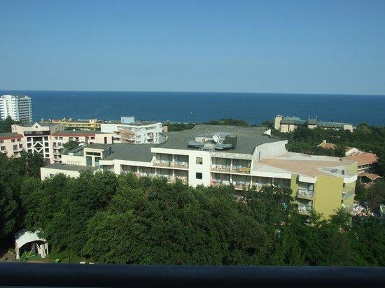 HVD Viva Hotel : la vista dal balcone