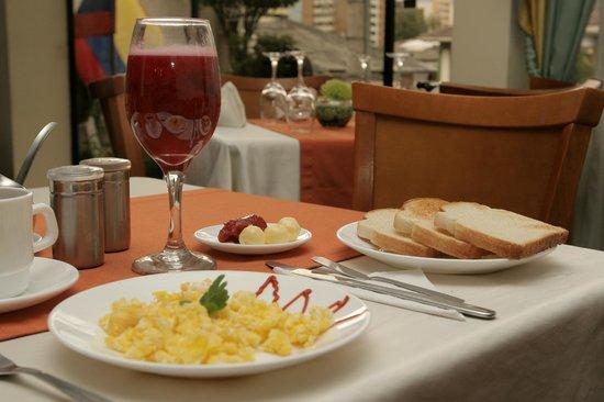 Hostal de la Mancha: Restaurant