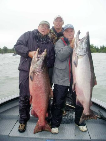 Orca Lodge: a pair of king salmon