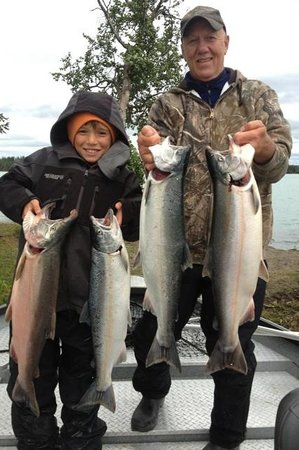 Orca Lodge: silver salmon