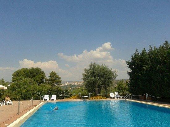 Hotel Villa Favorita: La piscina