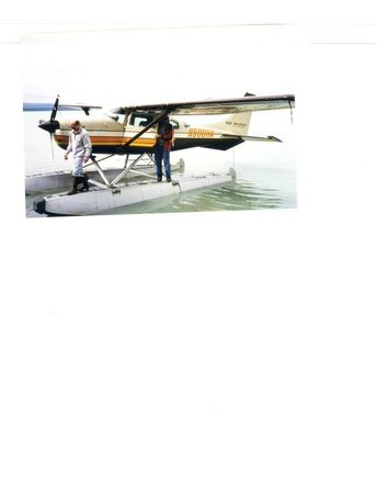 Orca Lodge : floatplane fishing