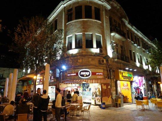 Ben Yehuda Street: Comercio na Av. Ben Yehuda