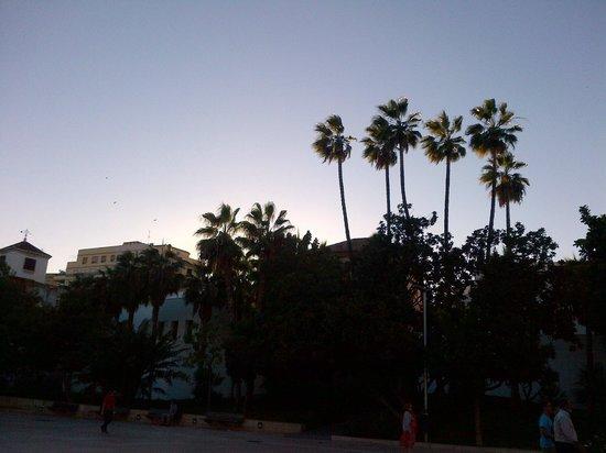 Ibis Malaga Centro Ciudad : Malaga sunset