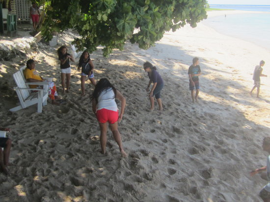 Vacations Beach Fales: kids had fun