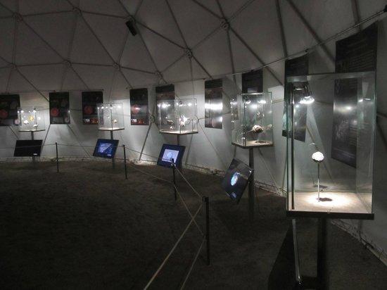 Museo del Meteorito: Museo por dentro