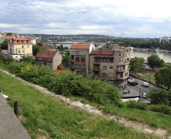 Sava River: Смотровая площадка в Белграде