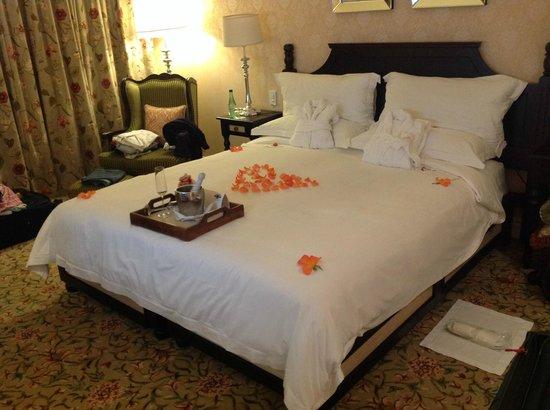 The Boardwalk Hotel: Nosso quarto