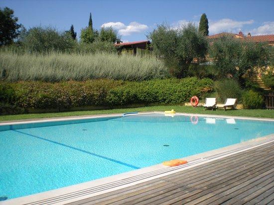 Borgo La Torre: Splendida ed enorme piscina