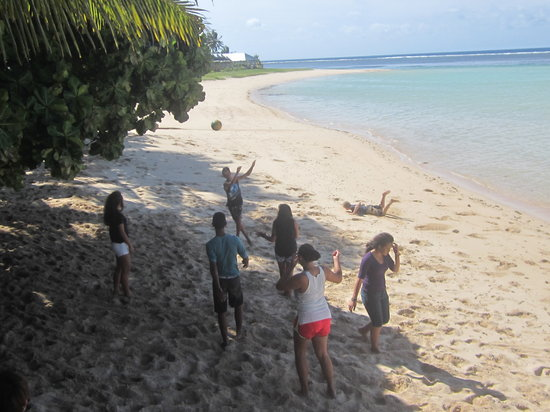 Vacations Beach Fales: Vaiala Primary School