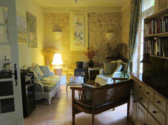 Le Jardin Sarlat : Sala de estar