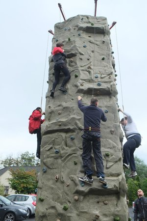 Ardclinis Outdoor Adventure: The wall