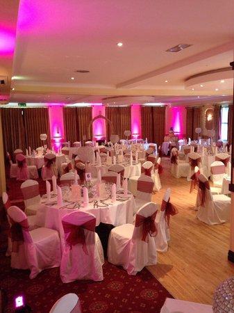 Oranmore Lodge Hotel: Room set up for wedding