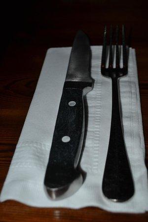 Martha's Vineyard Chowder Company: Now that is a knife