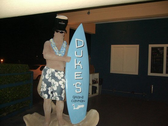Duke's Seafood and Rib Shack: Duke the Surfer