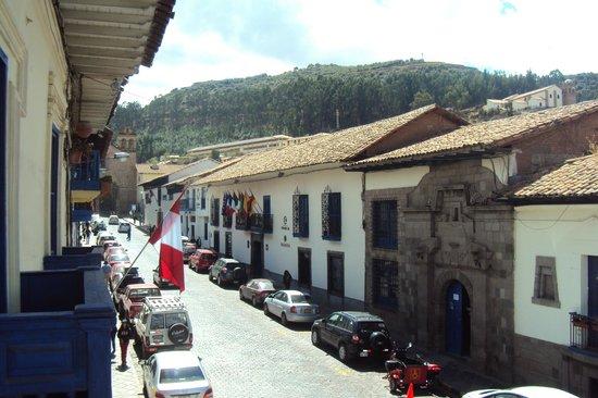 Royal Inti Cusco : Rua do Hotel Royal Inti