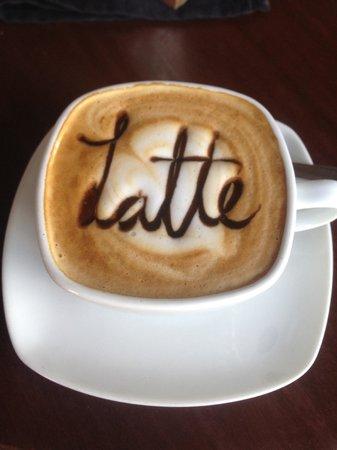Rain Forest Cafe y Restaurant: Best Latte EVER