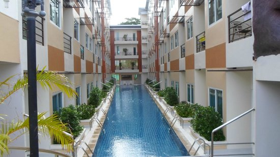 Andatel Grande Patong Phuket Hotel : Pool Access Room Pool