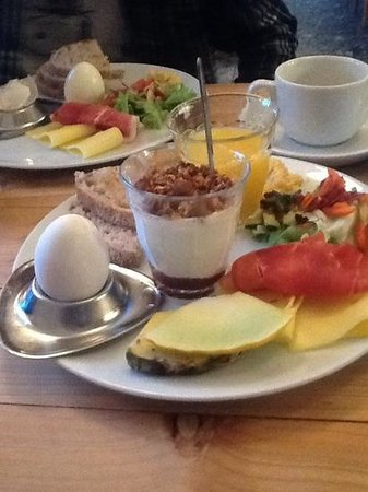 Kvosin Downtown Hotel : Iceland breakfast plate, not to be missed