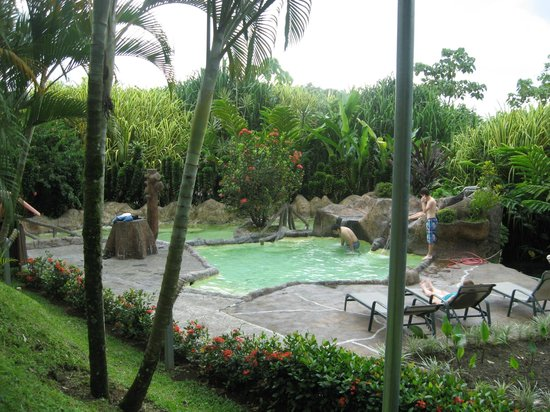 Los Lagos Hotel Spa & Resort: hidden hot mineral spring