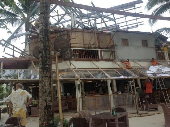 Ambassador in Paradise Resort: Ремонтные работы в ноябре 2013