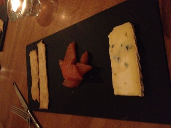 Wild Garlic Restaurant & Rooms: Blue cheese and quince