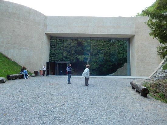 Krapina Neanderthal Museum: Main entrance