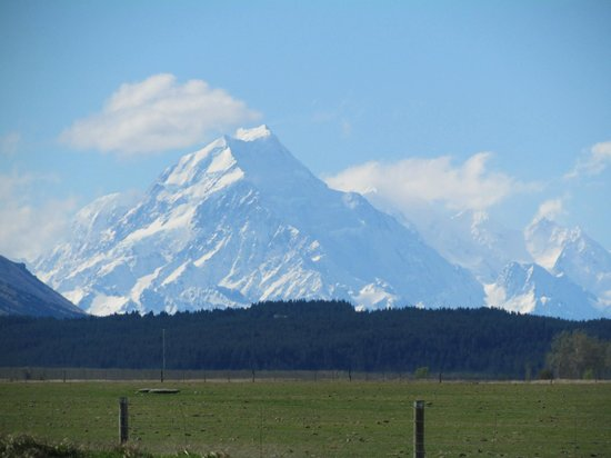 Omahau Downs: Aorangi Mt Cook