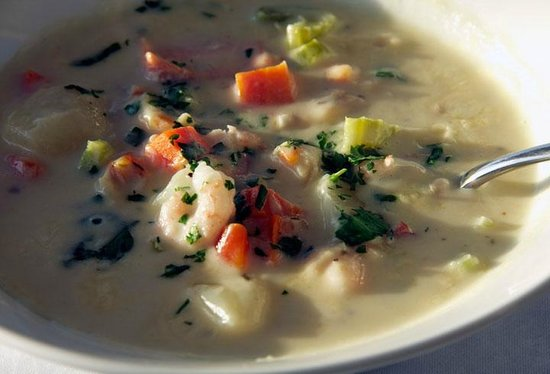 The Beachhouse: The best chowder you'll ever have!