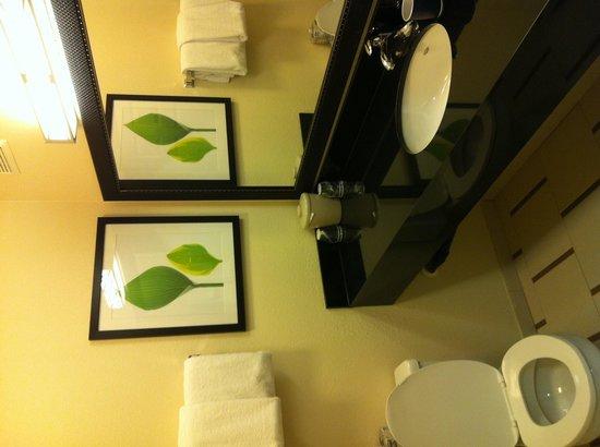 Fairfield Inn & Suites Phoenix Midtown : Bathroom