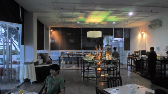 Naza Hotel: Restaurant