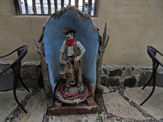 The Maverick Inn : Saint Cowboy, local artist Martha Scott
