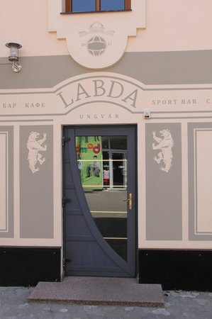 Labda main entrance