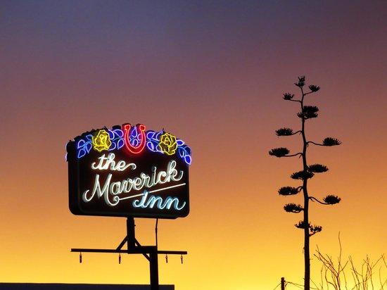 The Maverick Inn: Yes, that was the sunrise!