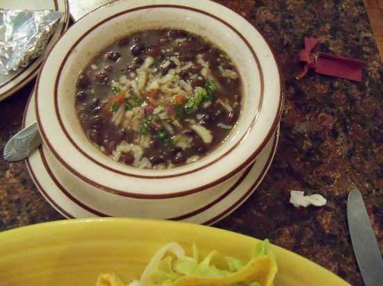 Santa Fe Grill and Bar: Black Bean Soup