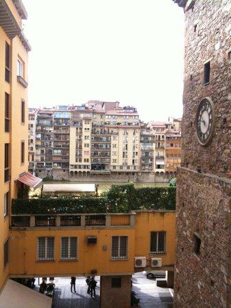 Hotel Alessandra : River Arno view