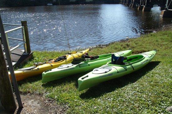 Karen's Kayaks: Getting Ready