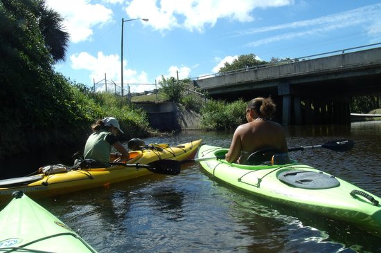 Karen's Kayaks: Out in the water