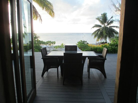 Aitutaki Escape : View from lounge