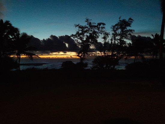 Castle Kaha Lani: view from unit