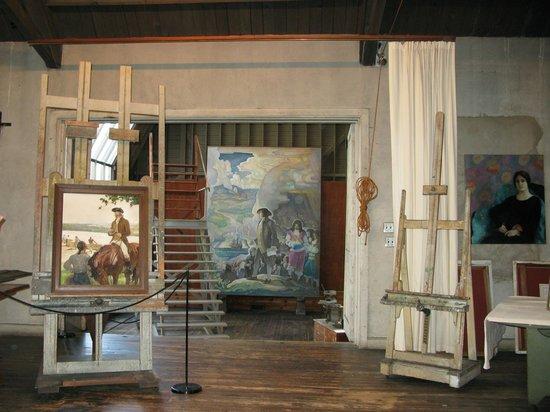 2128f228982 NC Wyeth Studio - Picture of Brandywine River Museum of Art