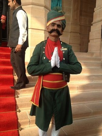 Umaid Bhawan Palace Jodhpur: the doorman