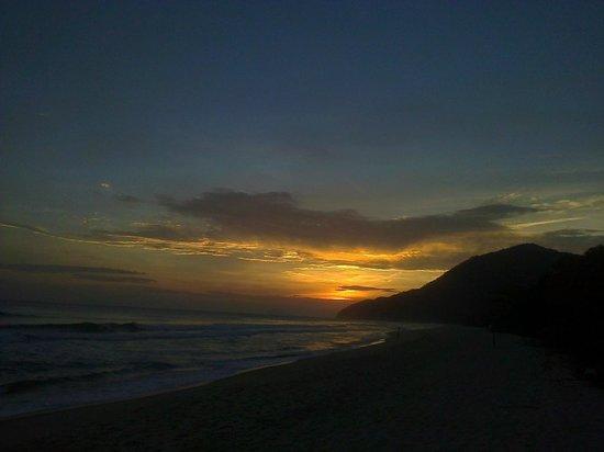 Praia de Maresias: Pôr do Sol em Maresias