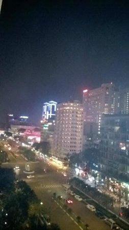 Saigon Prince Hotel : night view