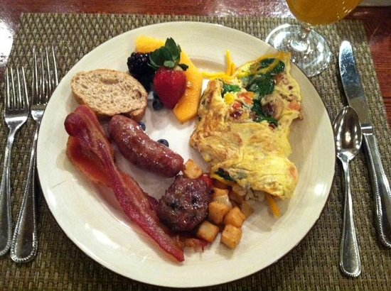 Omni San Antonio Hotel: Delicious breakfast