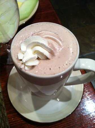 Omni San Antonio Hotel: Very good hot chocolate