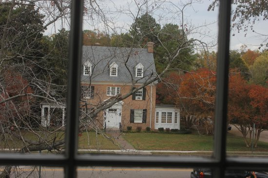 Alice Person House: Out Bedroom Window